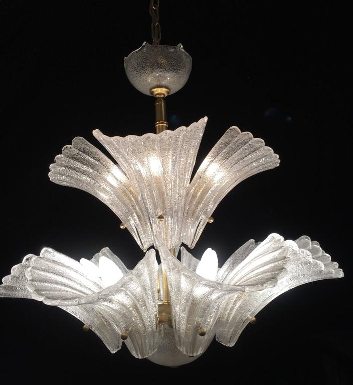 Murano Chandelier in style Barovier & Toso, 1950s 10