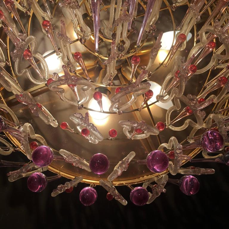 Extraordinary And Rare Chandelier Attributed To Barovier