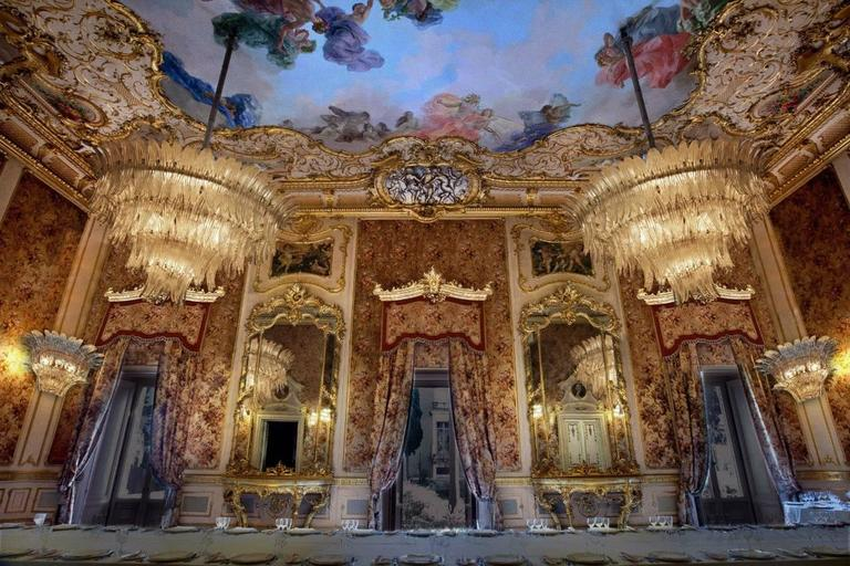 """Spectacular """"Palmette"""" Chandelier by Barovier and Toso ..."""