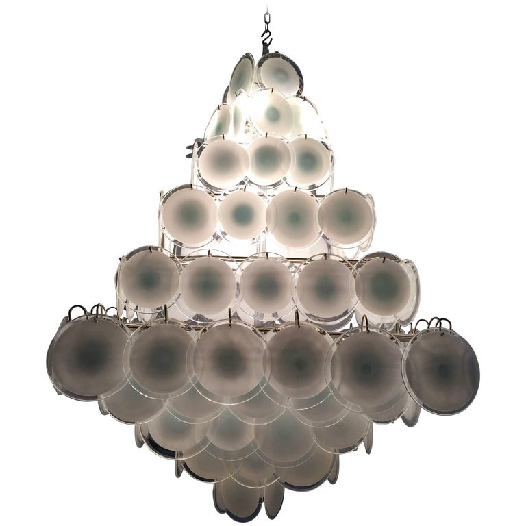 Majestic Chandelier by Gino Vistosi, 1960