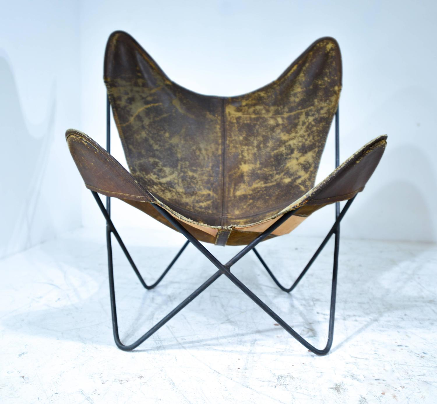 jorge hardoy ferrari butterfly chair at 1stdibs. Black Bedroom Furniture Sets. Home Design Ideas