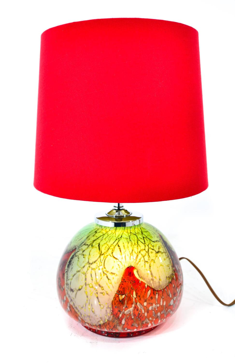 Colorful Murano Table Lamp For Sale At 1stdibs