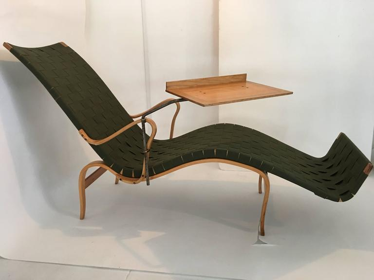 Bruno mathsson lounge chair at 1stdibs for Chaise 66 alvar aalto