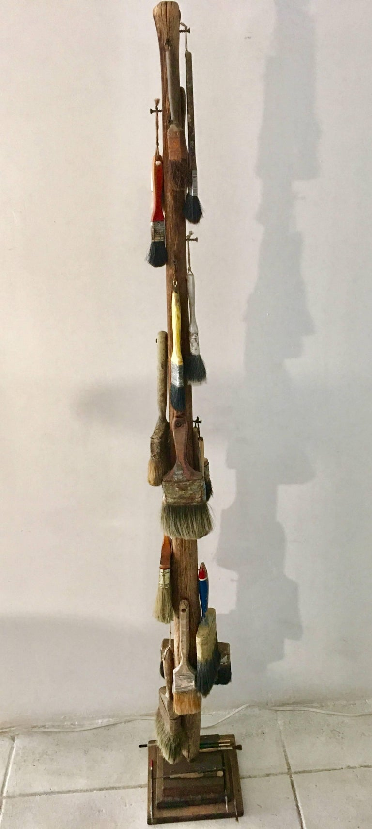 1940s Paint Brushes Sculpture For Sale 1