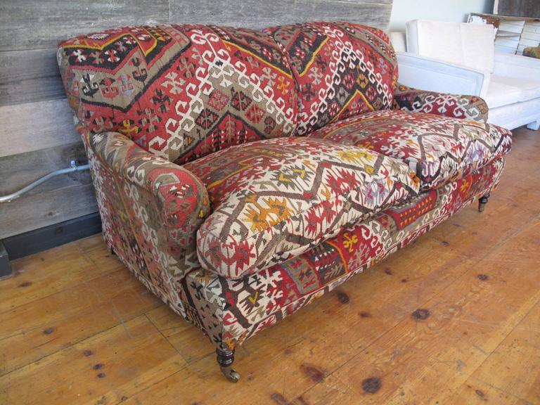 George Smith Kilim Sofa At 1stdibs