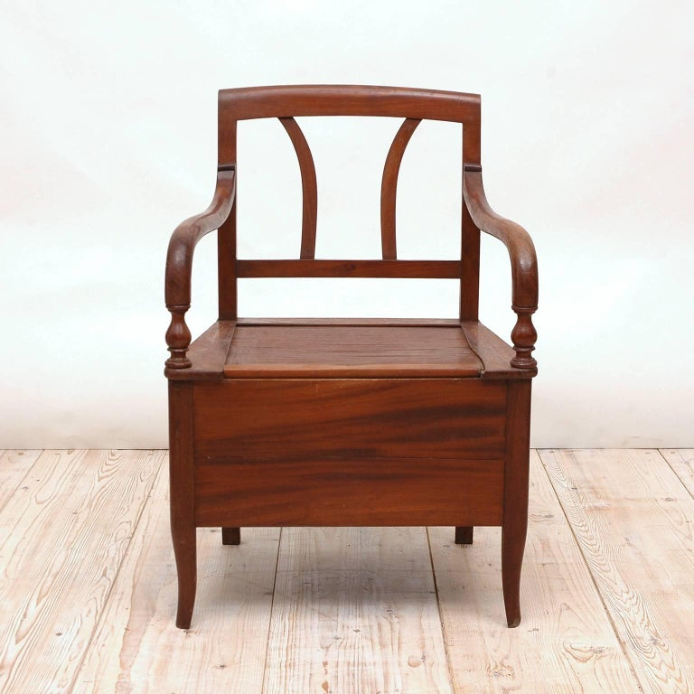 19th Century Collection of Seven Scandinavian Biedermeier/ Empire Armchairs In Good Condition For Sale In Miami, FL