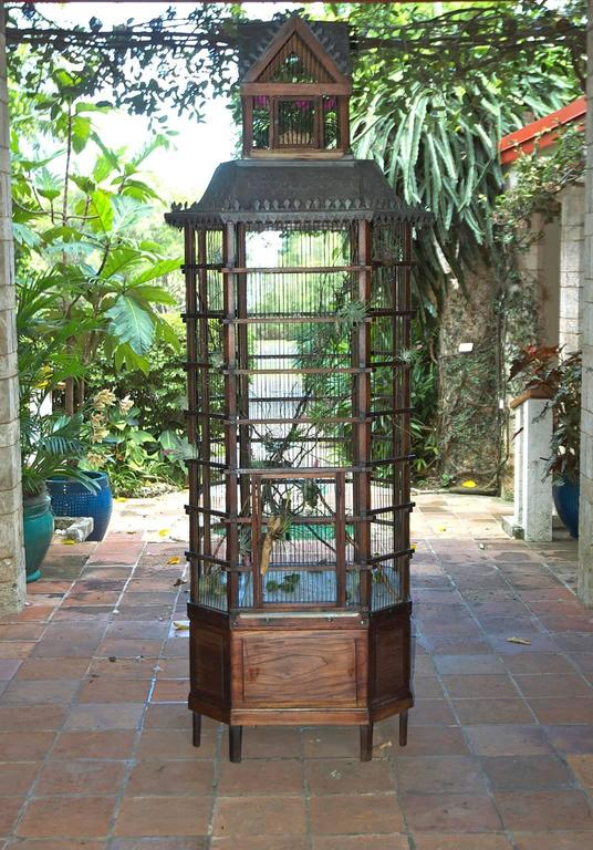 French Belle Epoch Aviary Or Bird Cage Circa 1900 At 1stdibs