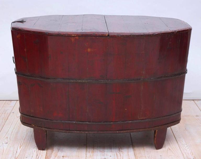 19th Century Chinese Grain Bin In Good Condition For Sale In Miami, FL