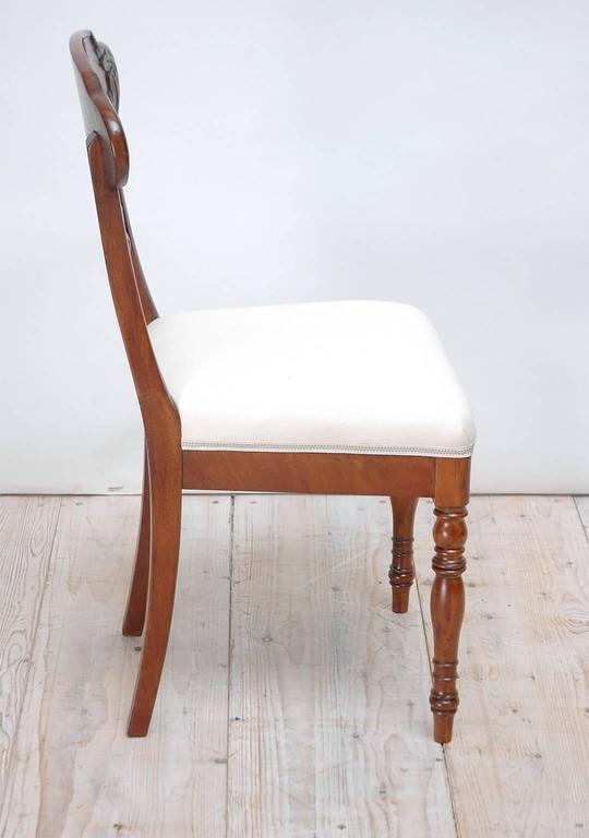 Set of 10 Karl Johan Swedish Dining Chairs For Sale 3