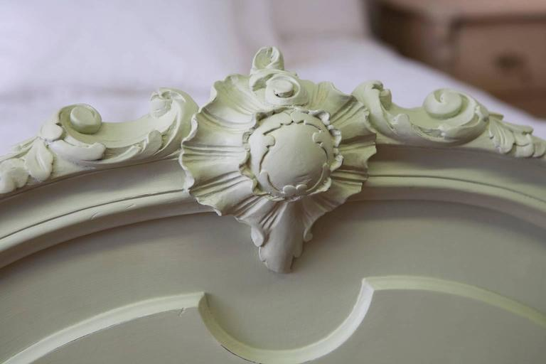 Antique French Louis XV Style Queen Bed from the Belle Époque Period 7