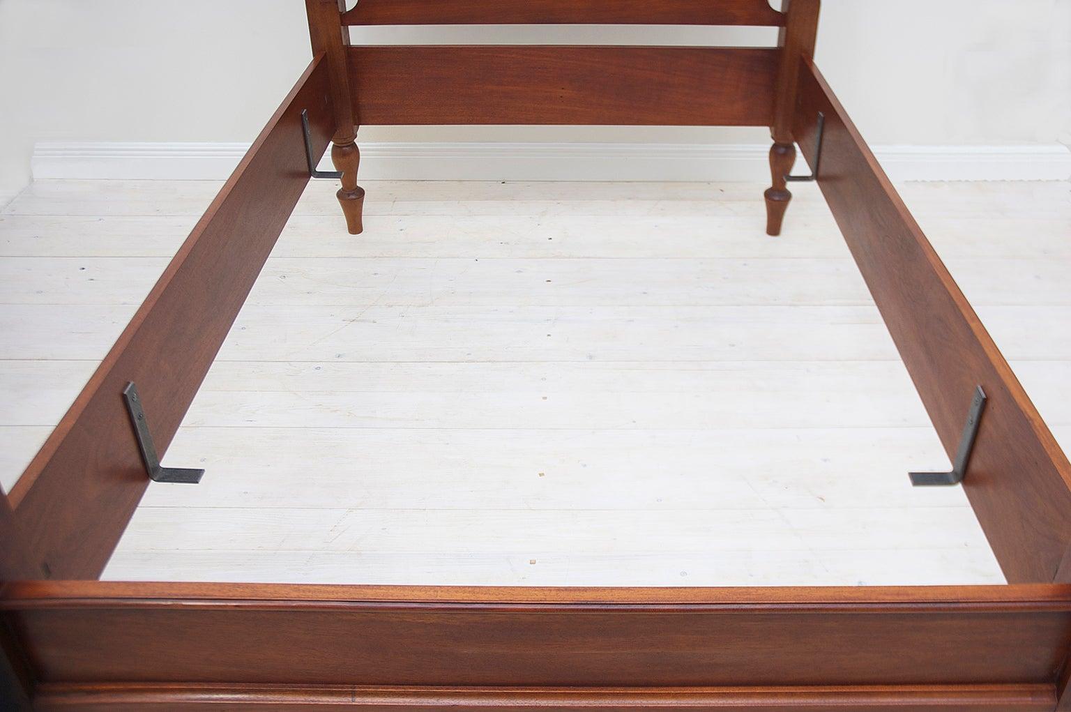 Bonnin Ashley Custom-Made Full-Size Cannonball Bed in Poplar For ...