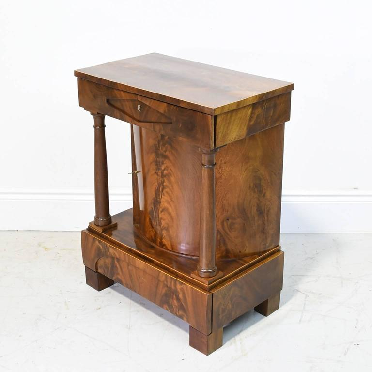 19th century north german biedermeier small cabinet in for Furniture 1825
