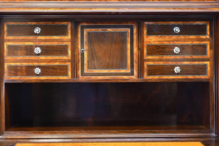 Early 19th Century Scandinavian Empire Fall-Front Secretary in Mahogany, c. 1825 In Good Condition For Sale In Miami, FL