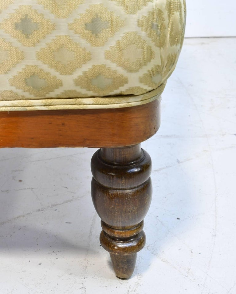 19th Century Danish Canapé in Walnut with Upholstery For Sale 2