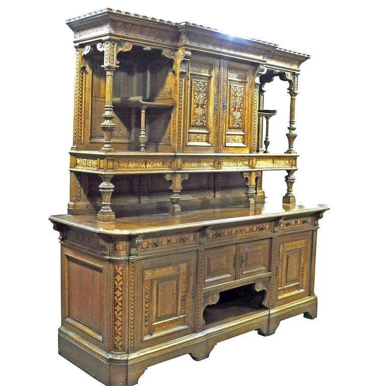 Large Sideboard by Bernhard Ludwig, Vienna, circa 1900 In Excellent Condition For Sale In Berghuelen, DE