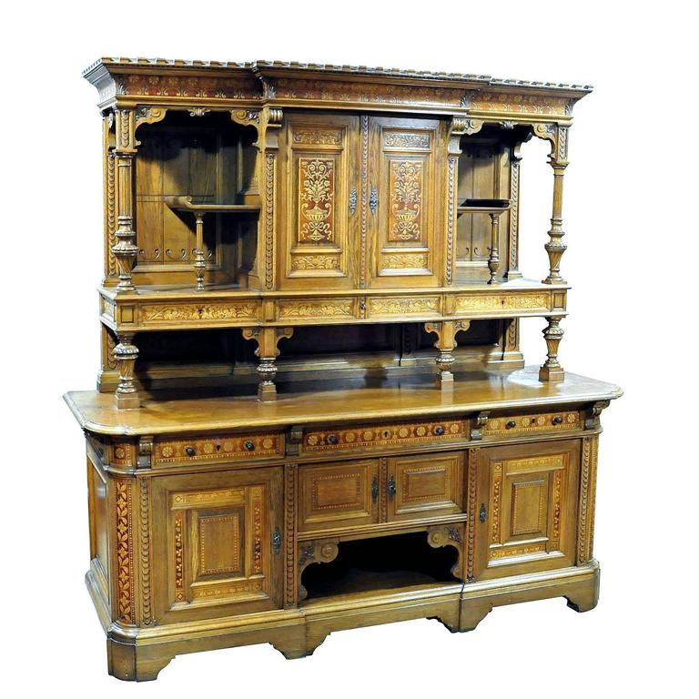 Large Sideboard by Bernhard Ludwig, Vienna, circa 1900 For Sale