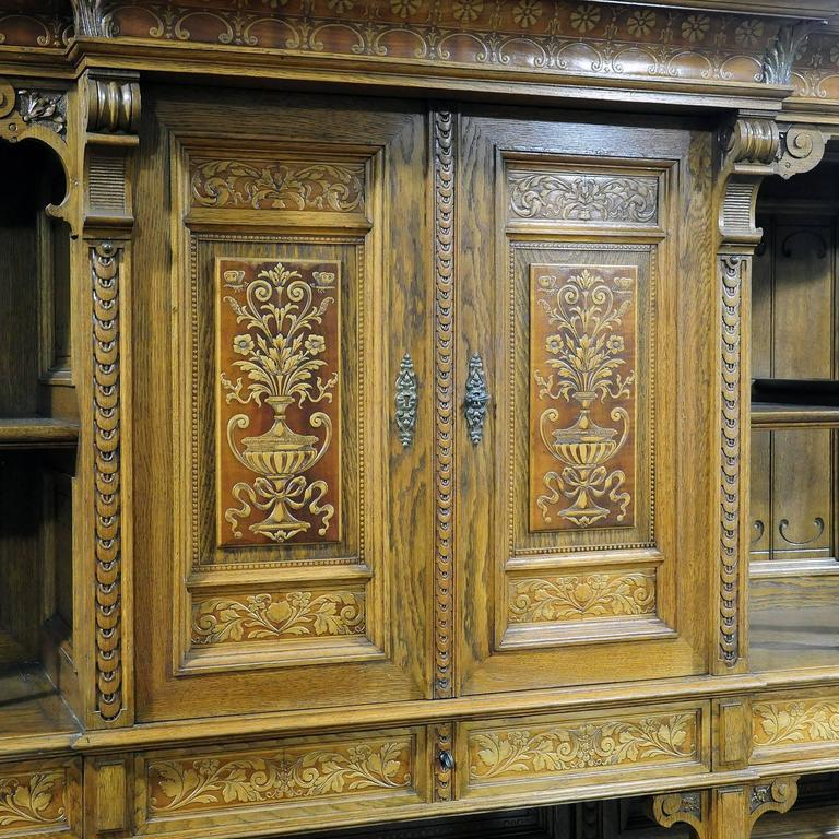 20th Century Large Sideboard by Bernhard Ludwig, Vienna, circa 1900 For Sale