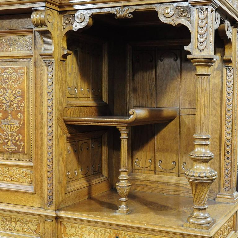 Large Sideboard by Bernhard Ludwig, Vienna, circa 1900 For Sale 1