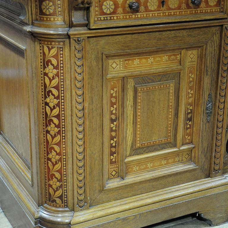 Large Sideboard by Bernhard Ludwig, Vienna, circa 1900 For Sale 2