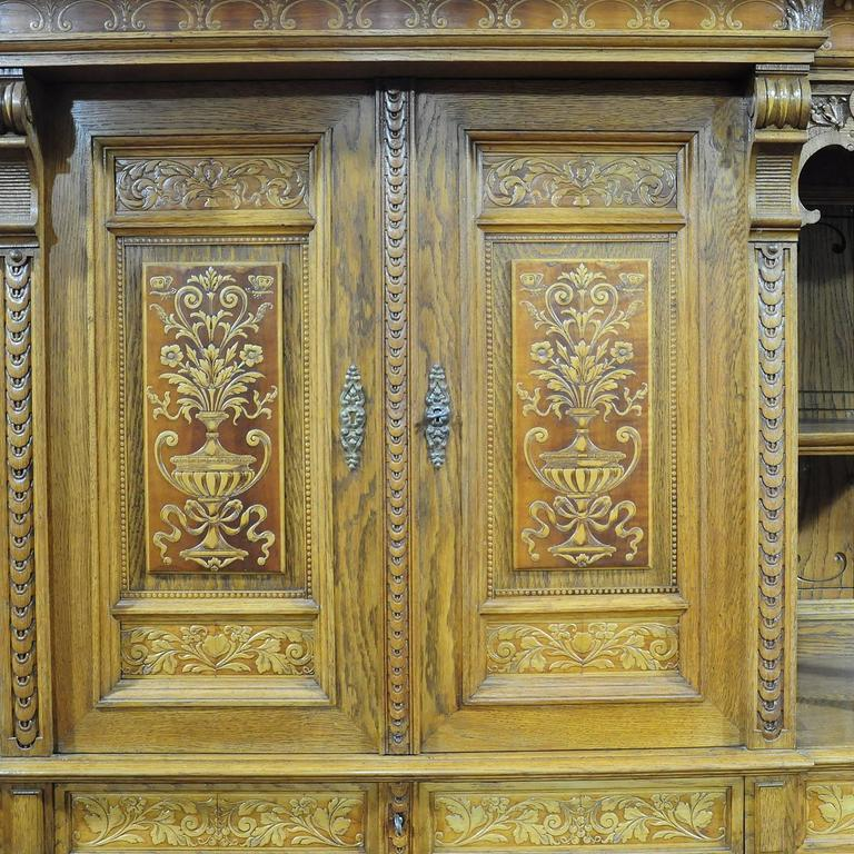 Large Sideboard by Bernhard Ludwig, Vienna, circa 1900 For Sale 3