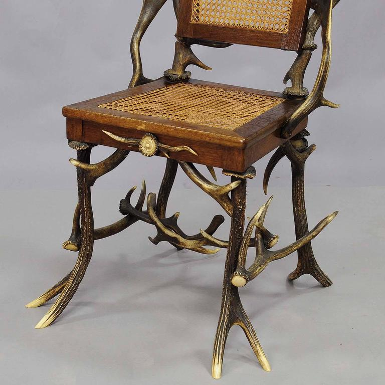 Pair Antique Rustic Cabin Chairs Circa 1900 At 1stdibs