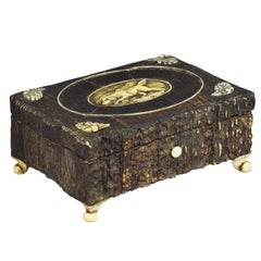 Great Miniature Antler Casket, 1860