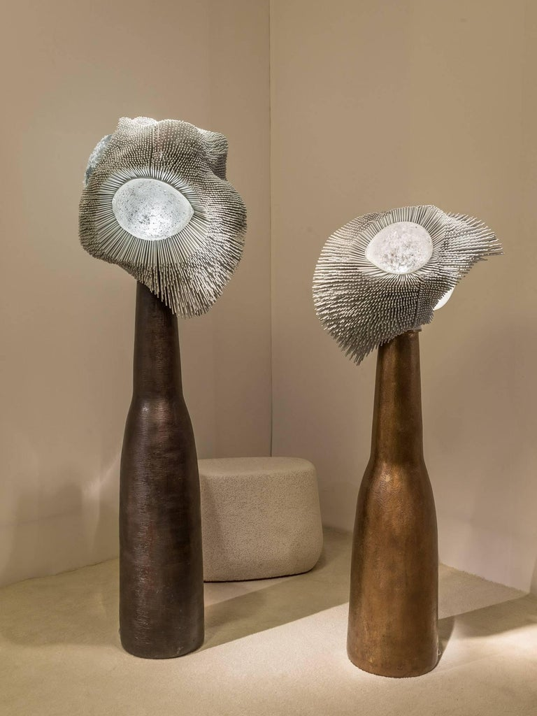 'Sea Anemones' Floor Light Sculptures 2