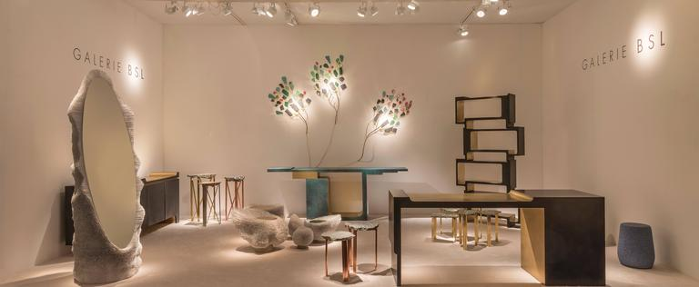 Contemporary 'Xiangsheng II Shelving Unit', a Modular Bronze Bookcase and Room Divider For Sale