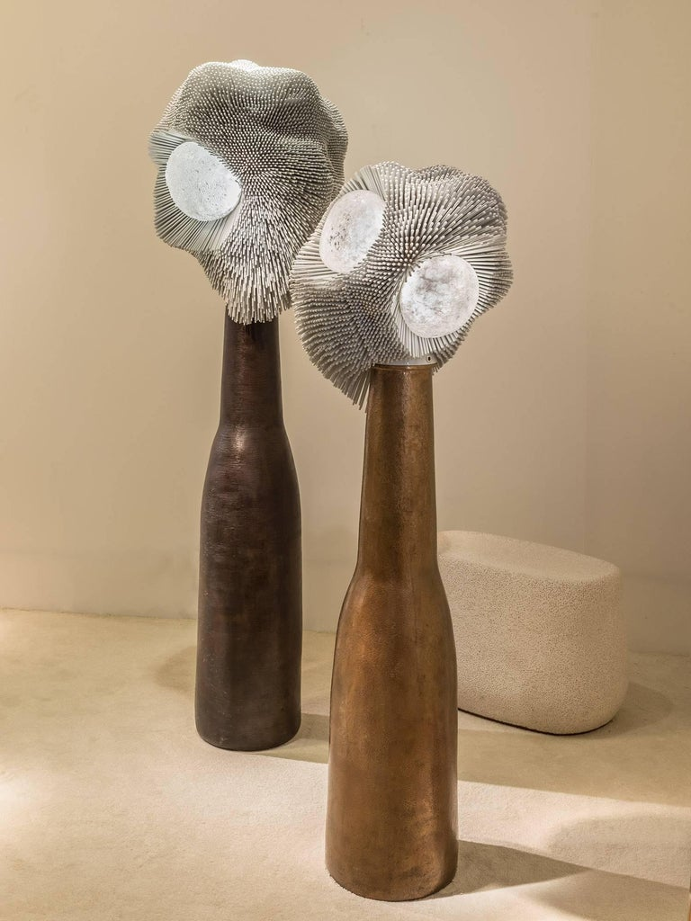'Sea Anemones' Floor Light Sculptures 3