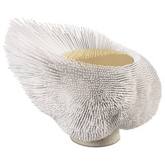 Large 'Sea Anemone' Side Table Handcrafted by Pia Maria Raeder