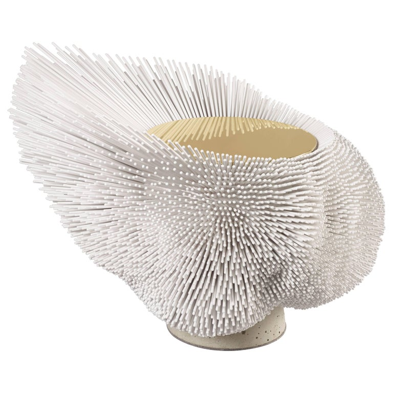 Large 'Sea Anemone' Side Table Handcrafted by Pia Maria Raeder For Sale