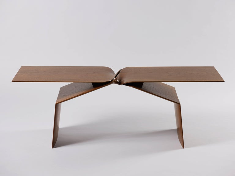 A new classic in itself, 'sculptural twist coffee table' by Dublin-born and Manhattan-based interior designer Carol Egan lies at the crossroads of past and future. Very minimalist in style, this table was developed using 3-D modelling software