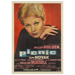 "Picnic"" Original Italian Movie Poster"