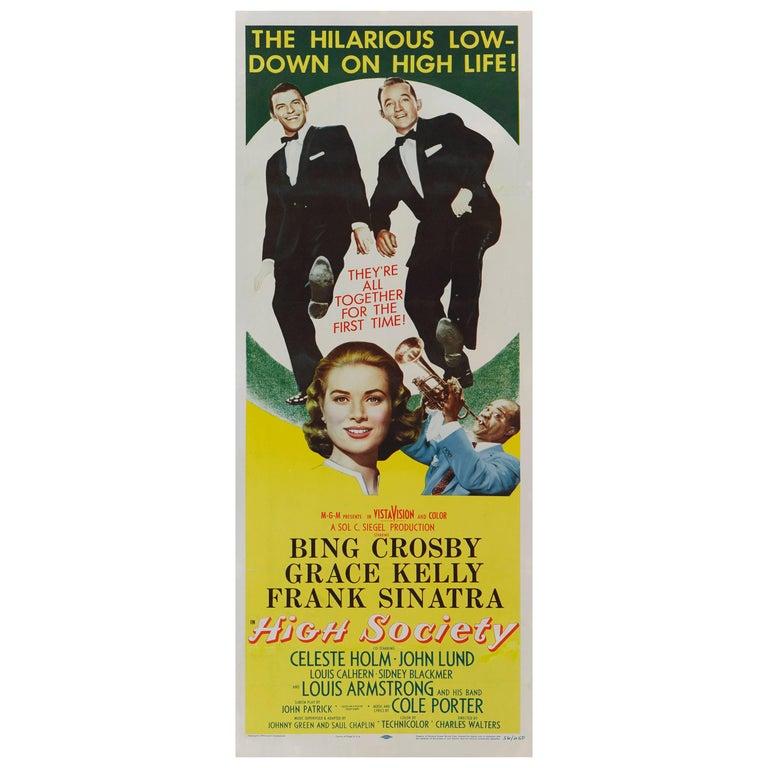 "High Society"" Movie Poster"