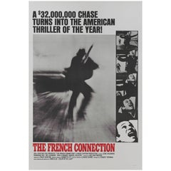 "French Connection"" Original Us Movie Poster"