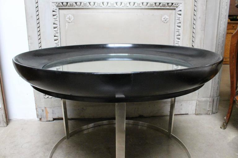 French Round Modern Cocktail Table 4