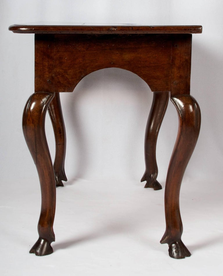 Régence Early 18th Century Regence Period Side Table with One Drawer For Sale