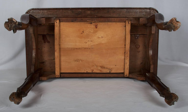 Early 18th Century Regence Period Side Table with One Drawer For Sale 3