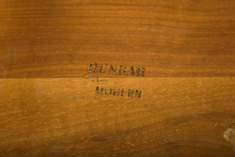 Mid-20th Century Magazine Tree Table by Edward Wormley for Dunbar, Model # 4765 For Sale