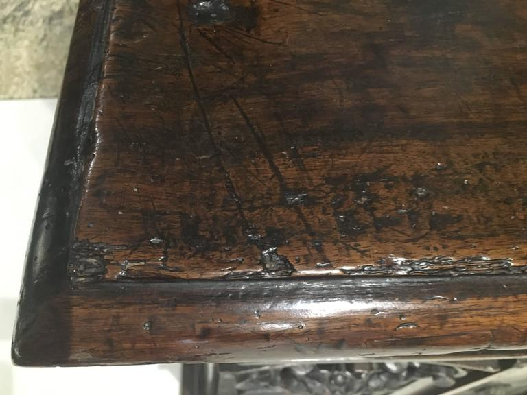 Early 17th Century Walnut Credenza/ Cabinet For Sale 2