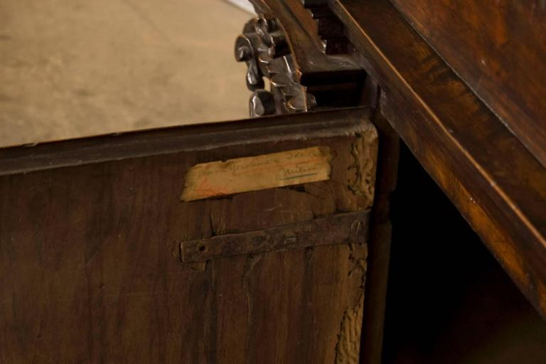 Early 17th Century Walnut Credenza/ Cabinet In Excellent Condition For Sale In San Francisco, CA