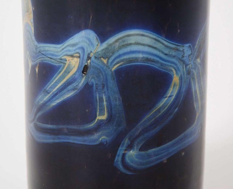Mid-20th Century Murano Glass Vase by Venini and Co., Italian circa 1940 In Good Condition For Sale In Lincoln, Lincolnshire