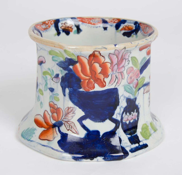Georgian Mason's Ironstone Large Cider Tankard Vase and Jardiniere Ptn, Ca 1815 In Good Condition For Sale In Lincoln, Lincolnshire
