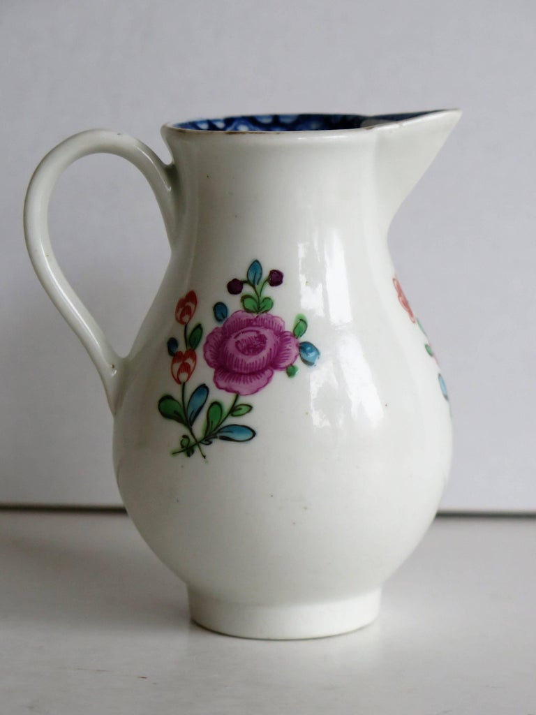 First Period Worcester Sparrow Beak Jug Porcelain, circa 1770 For Sale 2