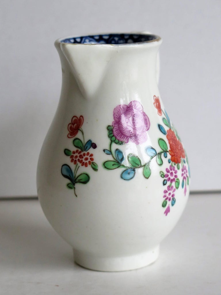 First Period Worcester Sparrow Beak Jug Porcelain, circa 1770 For Sale 5