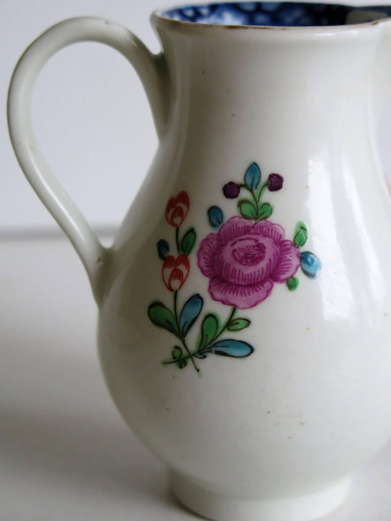 First Period Worcester Sparrow Beak Jug Porcelain, circa 1770 For Sale 4