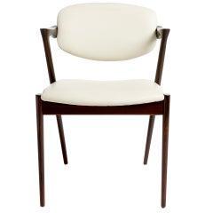 Kai Kristiansen Rosewood Dining Chairs, circa 1957-1970