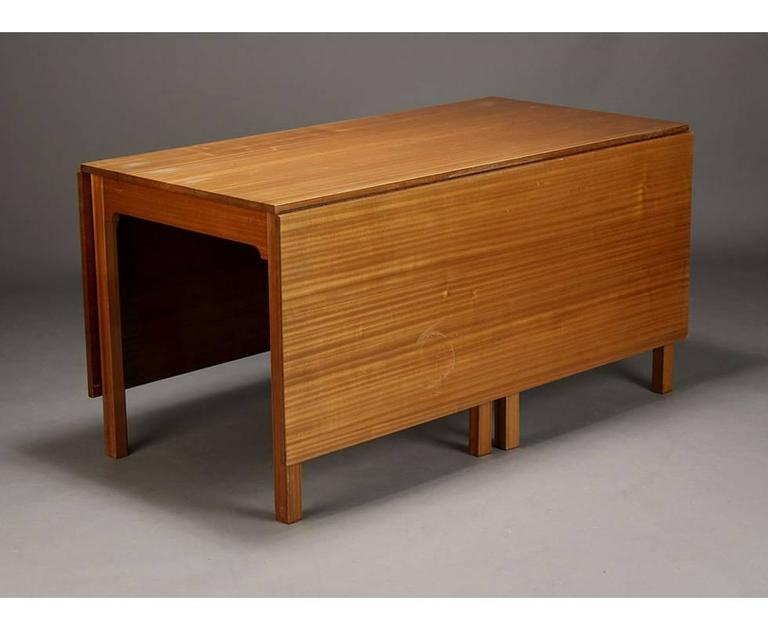 Kaare Klint Solid Mahogany Table Made by Rud Rasmussen, 1939-1942 3
