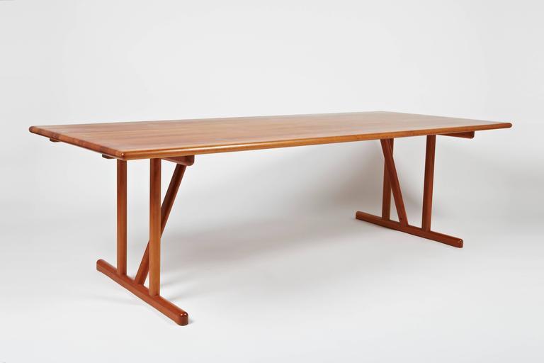 This Cherrywood Dining Table Is Designed By Nissen U0026 Gehl Made By Hansen U0026  Sorensen In
