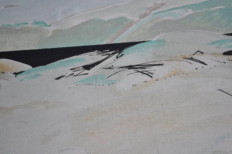 Late 20th Century Japanese Landscape For Sale